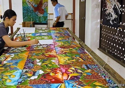 Langkawi handicraft-turrehberin