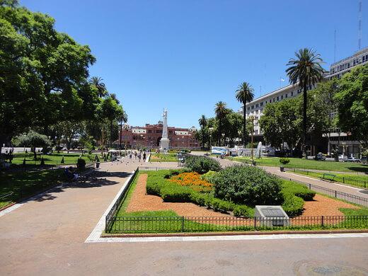 Plaza de Mayo-turrehberin