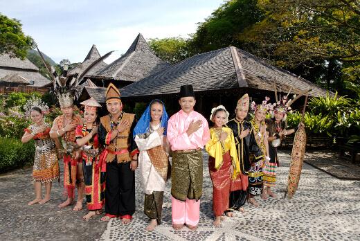 Sarawak culture village-turrehberin