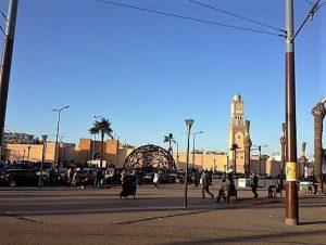 Casablanca Eski şehir merkezi