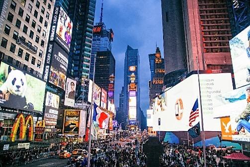 Times Square-turrehberin