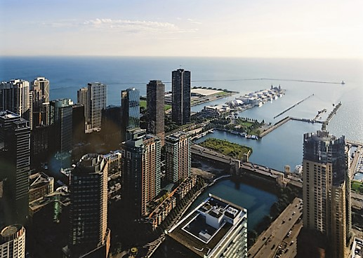 chicago-lake michigan-turrehberin