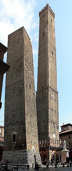 Bologna Kuleleri-turrehberin