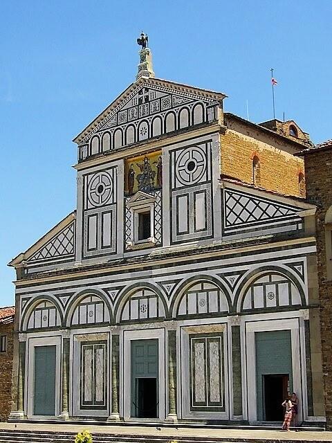 San miniato al monte bazilikası-turrehberin