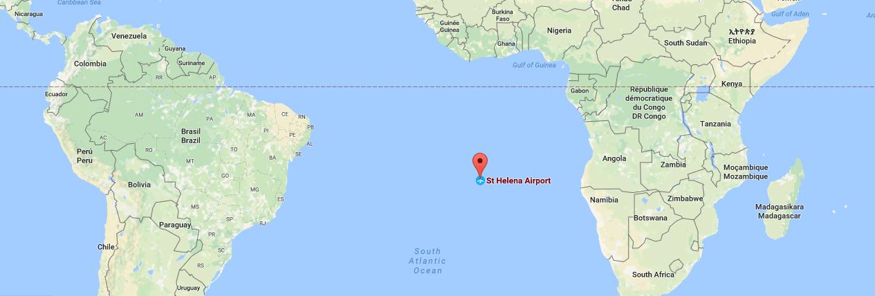 St.Helena harita
