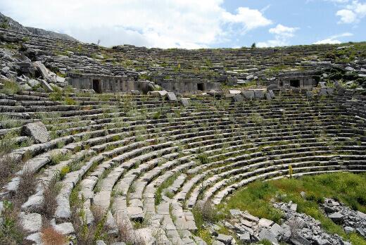 Sagalassos Antik Tiyatro