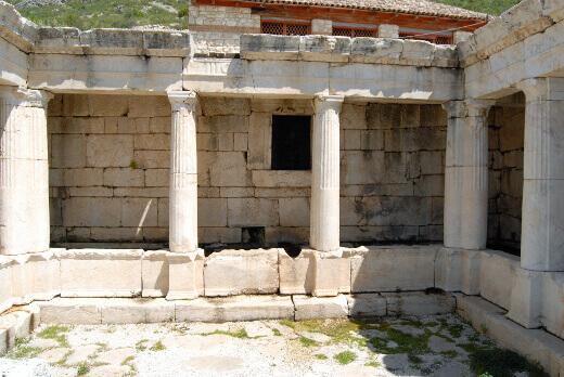 Sagalassos Helenistik Çeşme