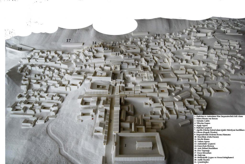 Sagalassos Şehir Maketi