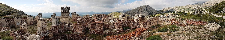 Sagalassos hamam panoramik