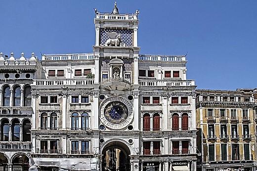 Venice Clock Tower-turrehberin