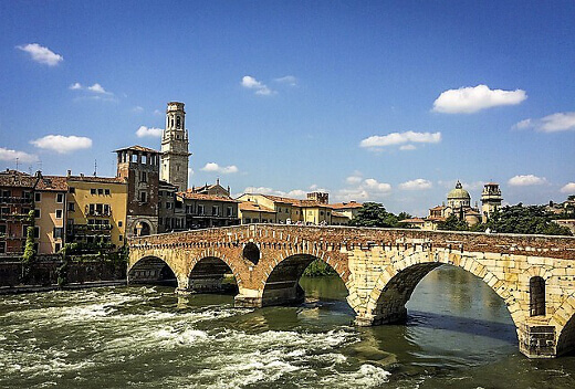 Ponte Pietra-turrehberin