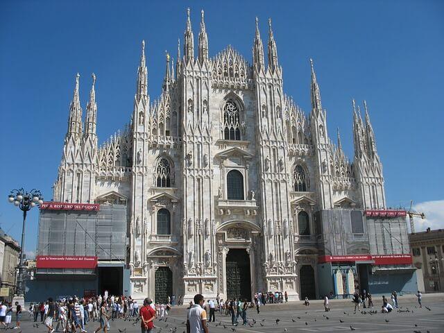 Duomo di Milano-turrehberin