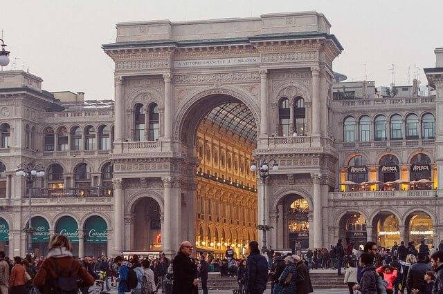 Galleria Vittorio Emanuele II-turrehberin