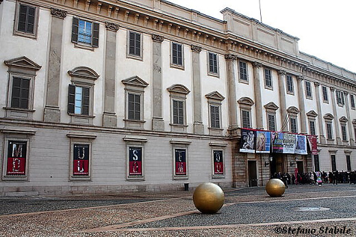 Palazzo Reale Milan - turrehberin