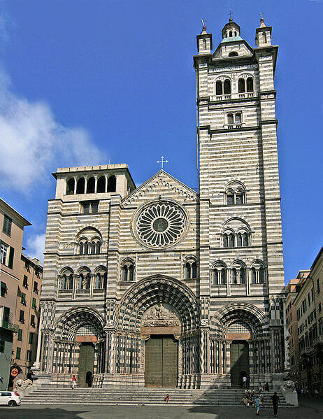 San Lorenzo Katedrali, Genova, Genova Gezi Rehberi, -turrehberin