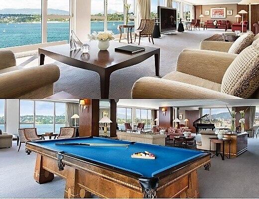 President Wilson Hotel Royal Suite-turrehberin