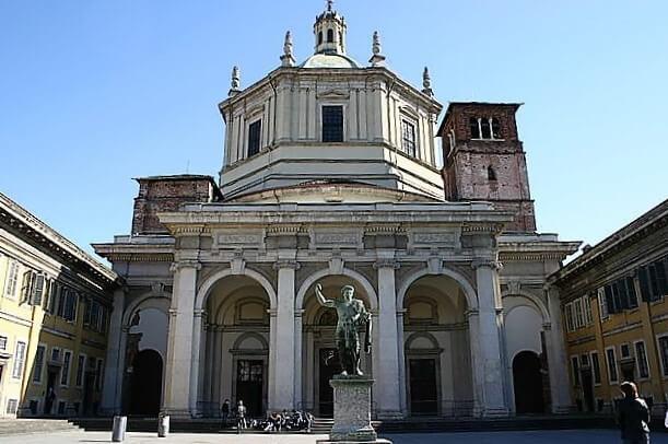 San Lorenzo Maggiore-turrehberin