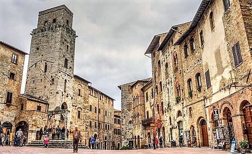 San Gimignano-turrehberin