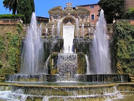 Villa d'Este - turrehberin