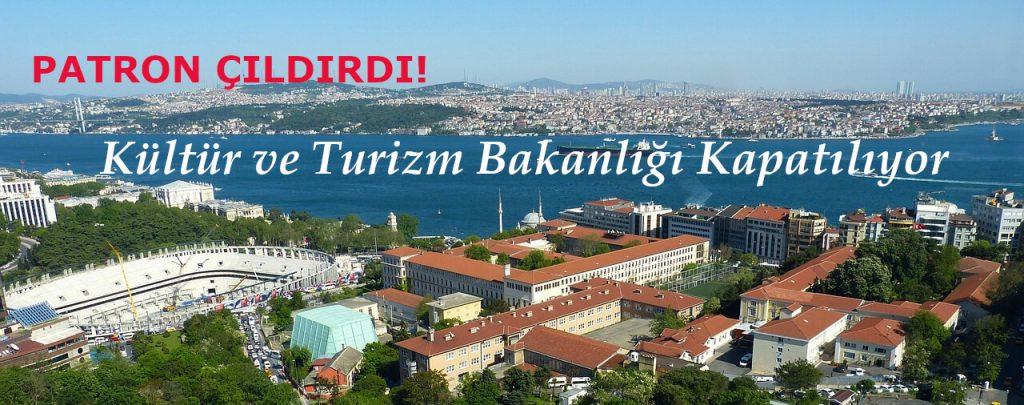 Turizm Bakanlığı Kapatılıyor