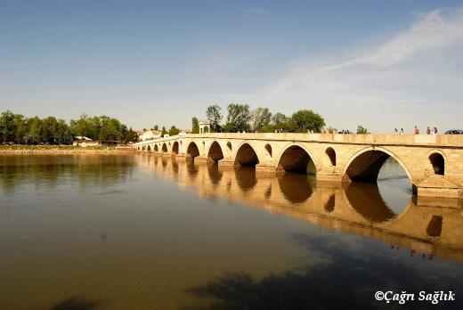 Meriç Nehri Mecidiye Köprüsü
