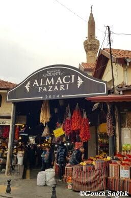 Gaziantep Almacı ,Pazarı