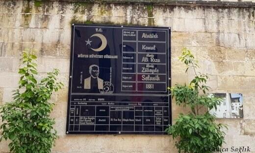 Atatürk Nüfus Cüzdanı Tablosu